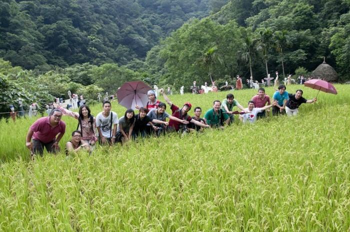 农场,也是能成为到台湾游玩的主题之一。图为台湾宜兰县,头城农场