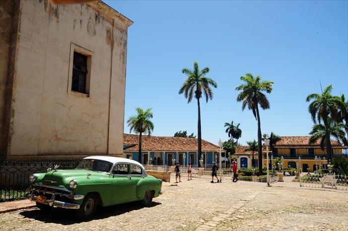 Plaza Mayor是个古典小花园,别于欧洲老城的典型广场。