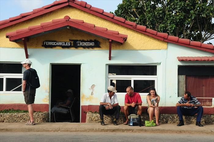 这是出发到 Valley de los Ingenios山谷的火车站,是特立尼达另一吸引人的地方,与特立尼达共同列入世界遗产。