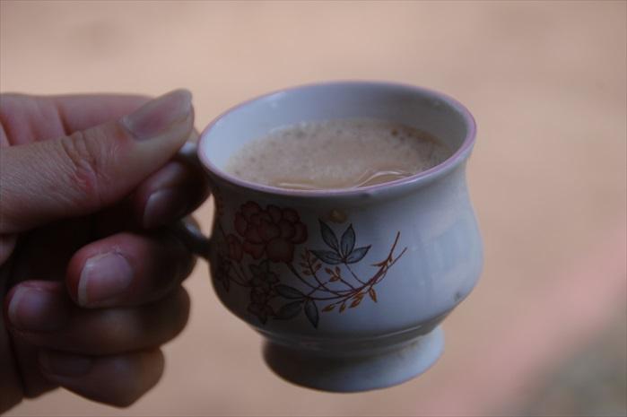 印度奶茶。