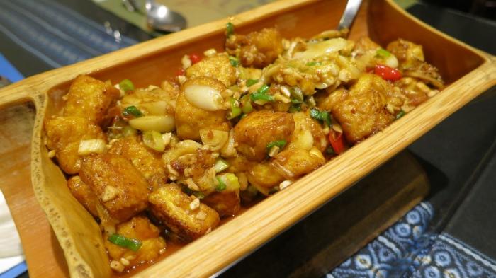 公主的嫩豆腐,实为咸蛋炒豆腐,超惹味好拌饭!