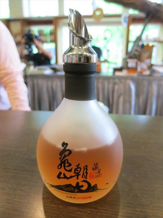金枣酒,甘甜的味道让人轻易接受。