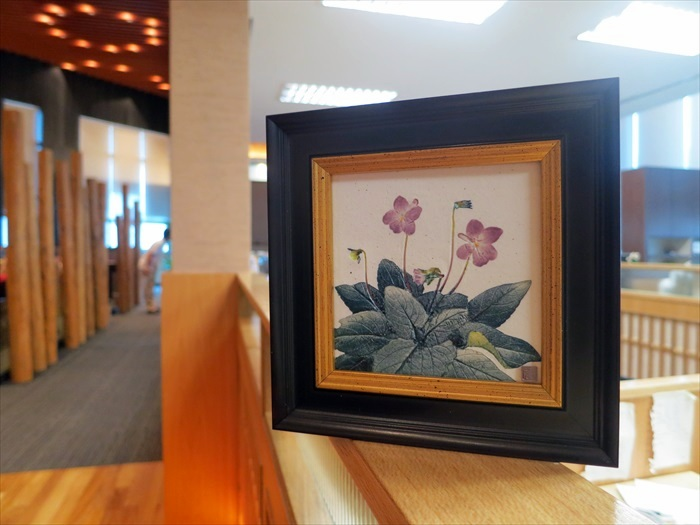 感谢市长带来熊本传统工艺伴手礼——草木捺彩陶!