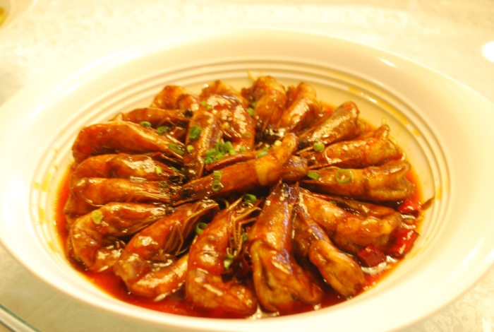 朝鲜麻辣虾