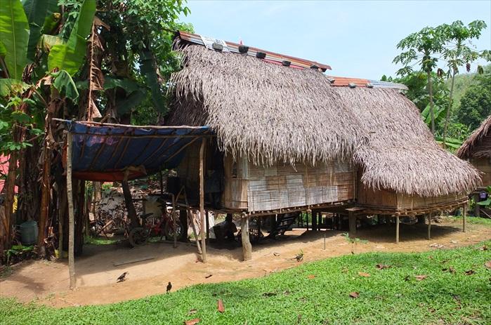 宋溪的原住民村落。