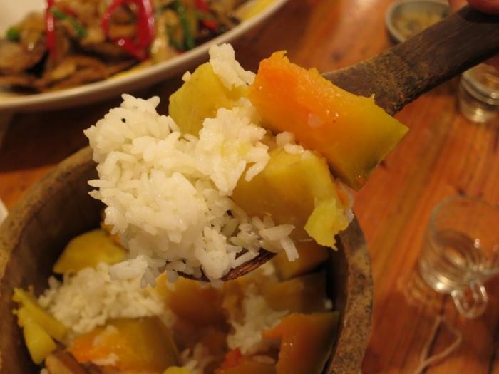 加了南瓜和地瓜的米饭,简单却是我的最爱!
