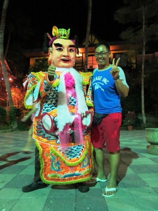 三太子在台湾可真是万人迷。