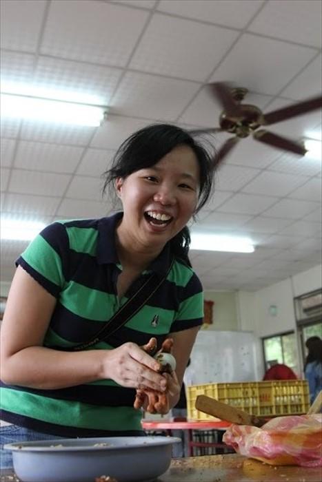 《好玩》代表杨嘉雯是个亲切又认真的小女孩。