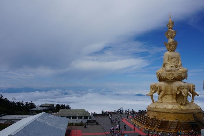 世界最高金佛 -- 四面十方普贤菩萨像