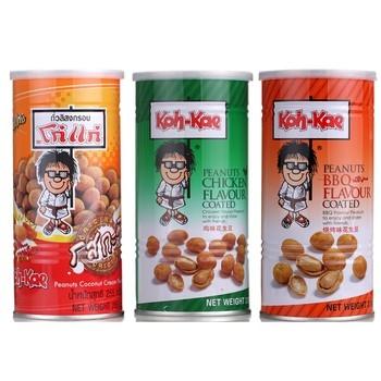 """泰国出产 """"大哥大""""花生,现出有多种口味的哟!"""