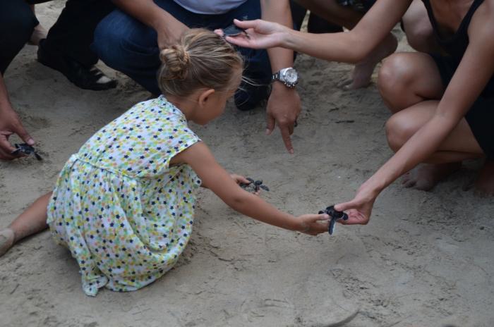 生态意识从小开始