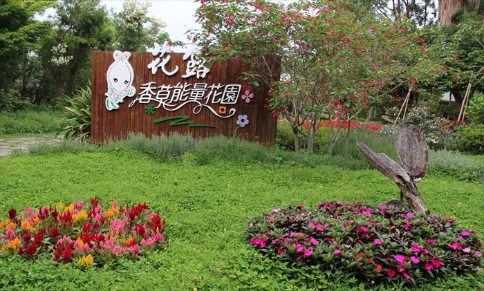 香草能量花园是游客观赏花卉的地方。