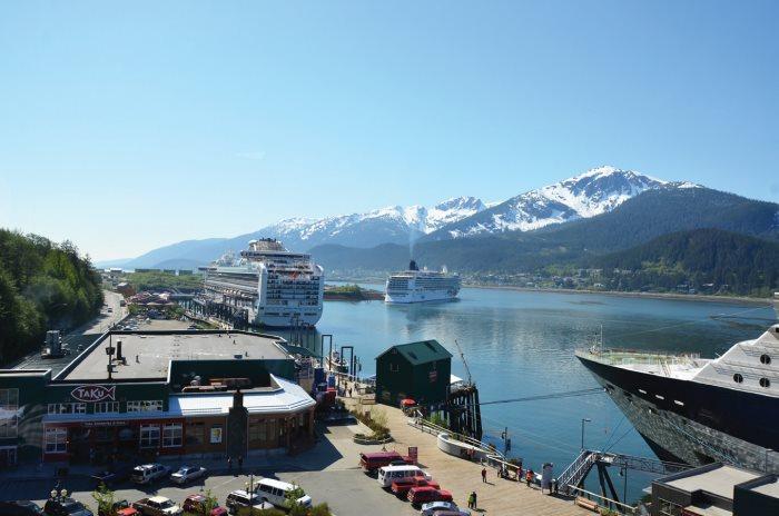 阿拉斯加首府——朱诺(Juneau)。