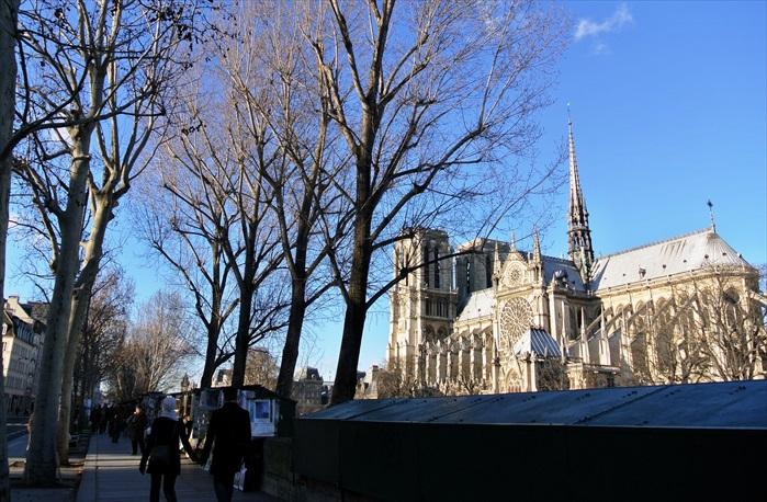 """沿着塞纳河岸绵延近三公里的""""绿箱书摊""""是巴黎的一道风景,据说摆卖各个时代的旧书多达30万册,有些甚至是很珍贵的古籍,还有许多或许是值得有心人收藏的旧期刊、图画、明信片和邮票,可谓玲琅满目。"""
