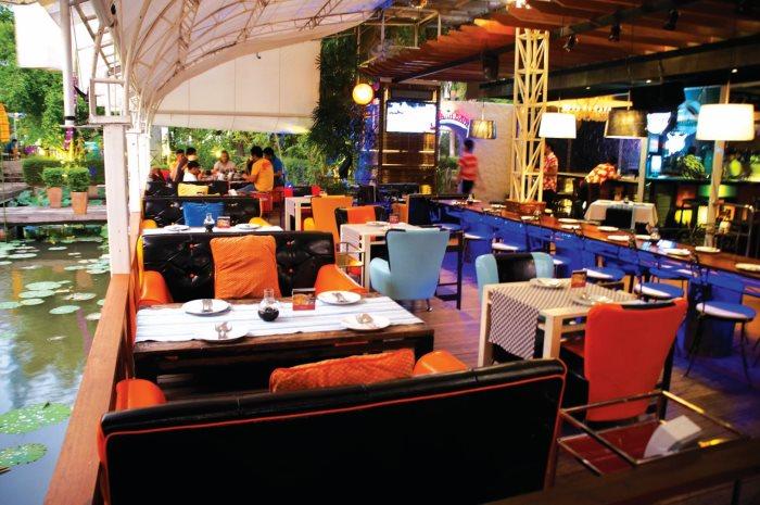 开放式的空间,舒服的设计,多了一份时尚气息。