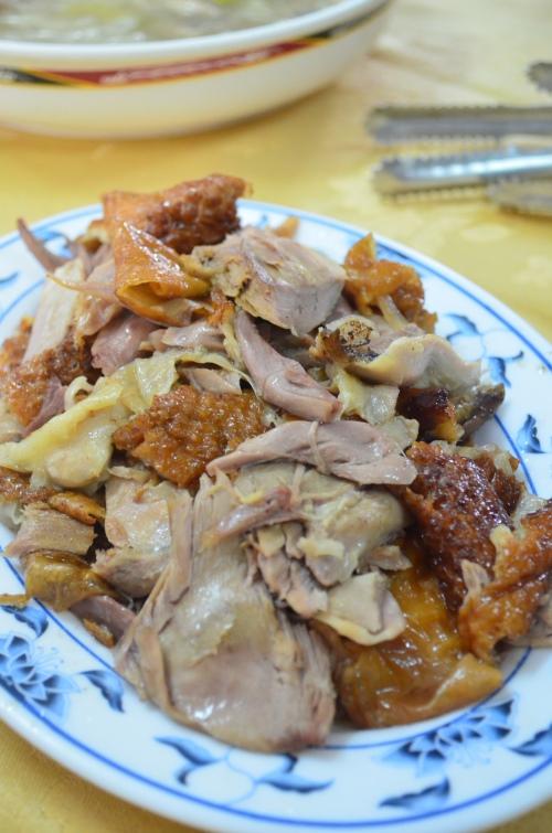这里的鸭肉肉质结实,富有弹性更不带腥味。