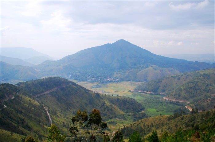 Tele山上暸望的岛之风景。(一)