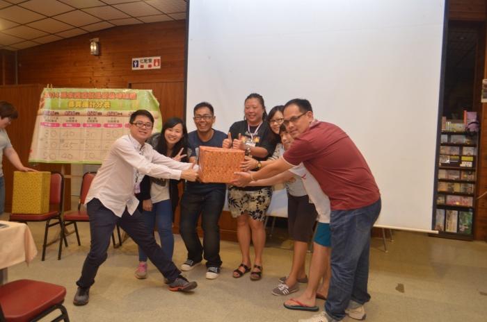 《好玩》记者杨嘉雯的绿队与红队成为双冠军。