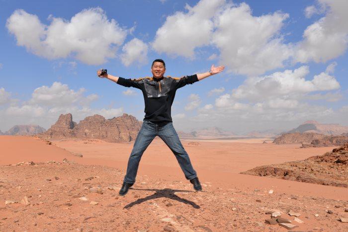 约旦首都安曼,是一座非常好的考古城市、历史悠久的山城。