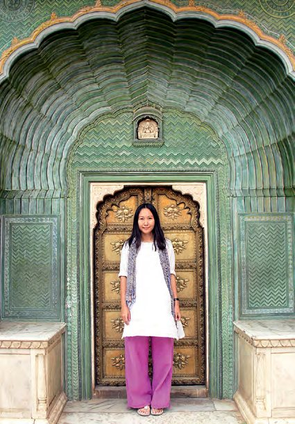 摄于印度斋浦尔的City Palace。