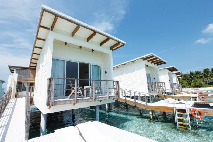Kandooma水上别墅。
