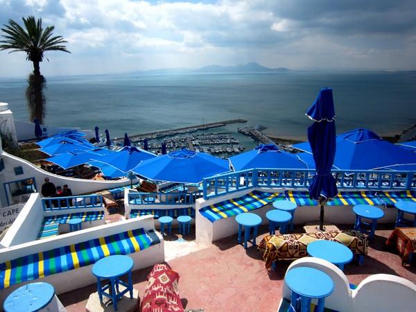 Sidi Bou Said, Tunisia.