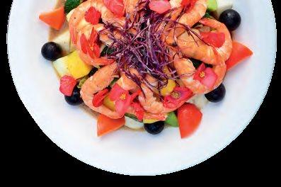 清甜爽脆的桂花醋养生蔬果裸虾,最美味料理投票率高达90%,推荐必尝!