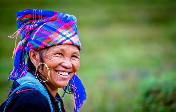HMong woman in Sapa region, North Vietnam