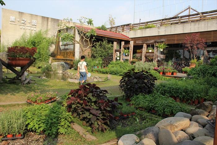 薰之园香草休闲农场外观。