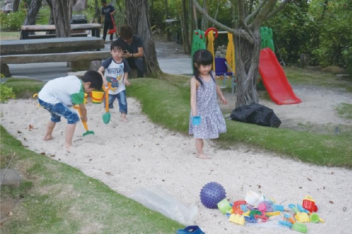 在这里,小孩也可以找到属于他们的快乐。