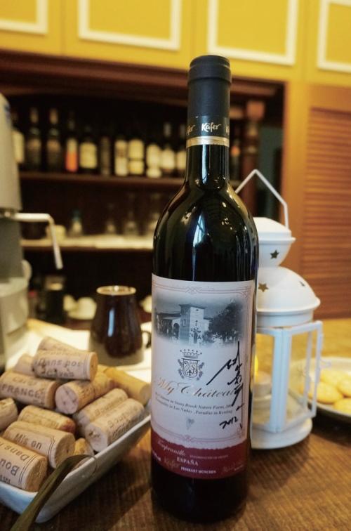 庄主希望客人们在品尝红酒时,也能亲近红葡萄酒的历史文化。