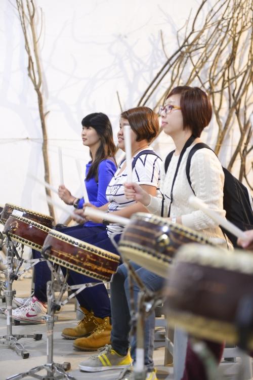 这里不但可以了解鼓的文化,还可以体验打鼓的乐趣。