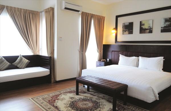 拥有阿拉伯设计风格的套房Arabian Suit共有8间,环境舒适宽敞。