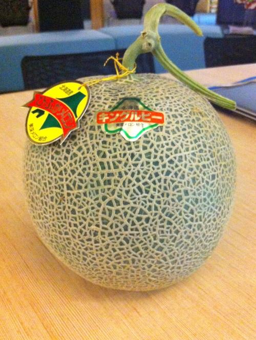 夏季是夕张蜜瓜的产季,这在国内国外都有一定的需求量。