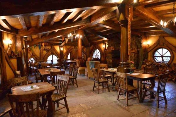 Green Dragon Inn Hobbit Village Movie set