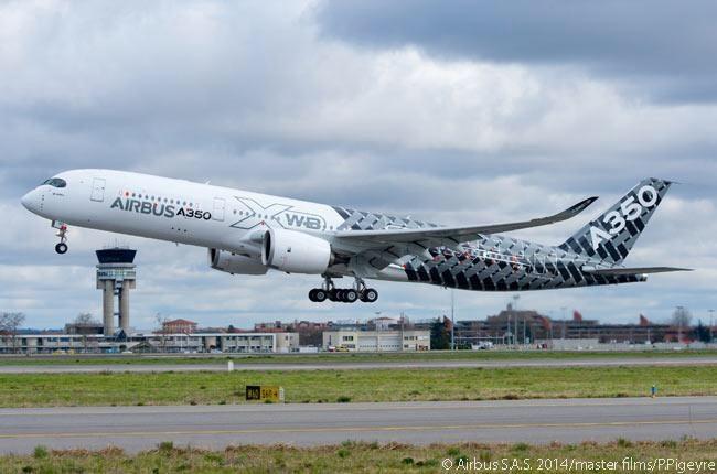 空巴A350-900XWB即将投入服务;最先进与最安全的结晶品! (图:星洲日报)