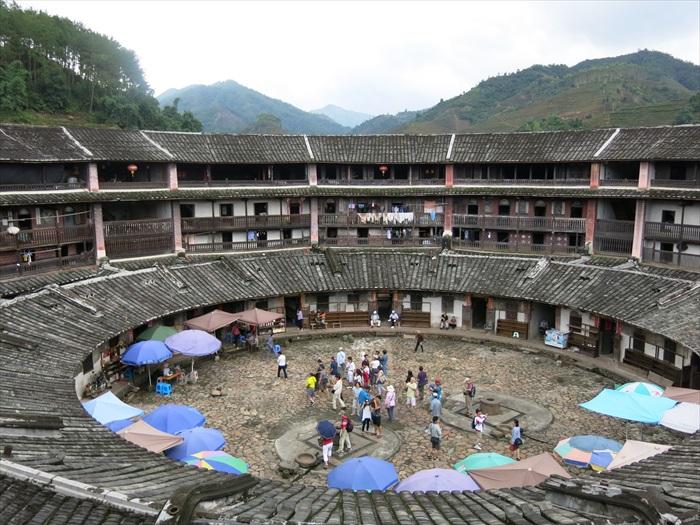 华安土楼,可是世界文化遗产之一。