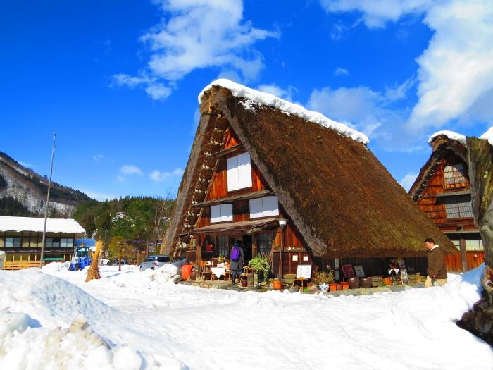 日本得天独厚的世界文化遗产 -- 白川乡合掌村