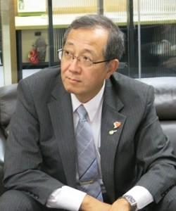 鸟取县副知事林 昭男  Akio Hayashi, Vice-Governor Tottori Prefectural Government