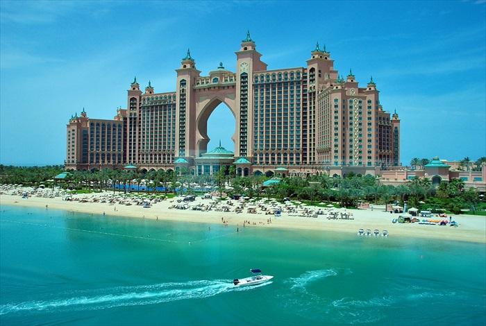 失落的庭院,就位于迪拜知名的亚特兰提斯棕榈酒店内。