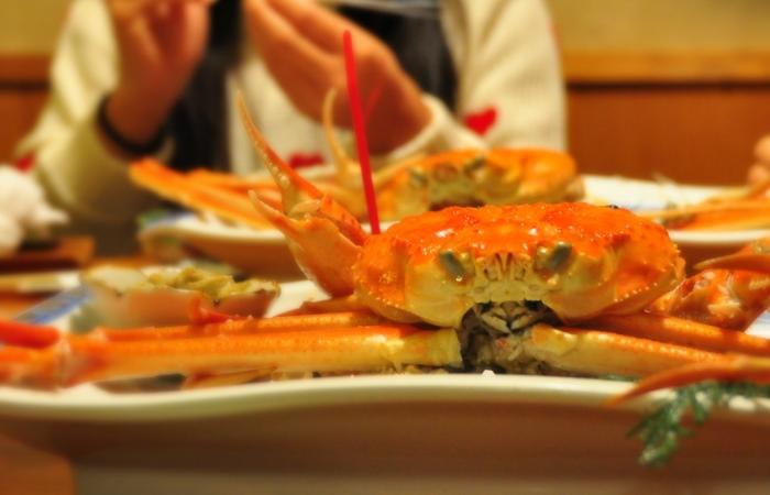 鸟取县特产:松叶蟹