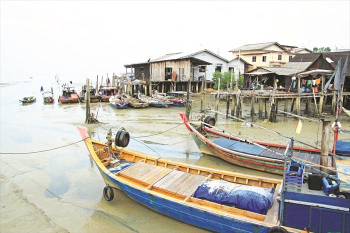 这里有最原始的渔村风貌。