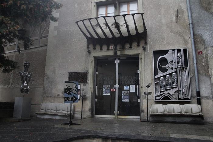 HR Giger博物馆将会颠覆你对《异型》的印象。