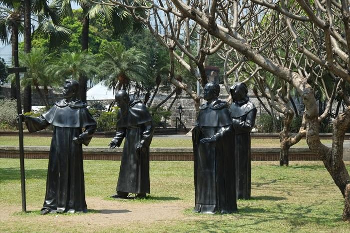 Fort Santiago的小公园