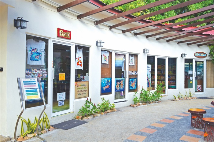 Redang Beach Resort附属小商店。