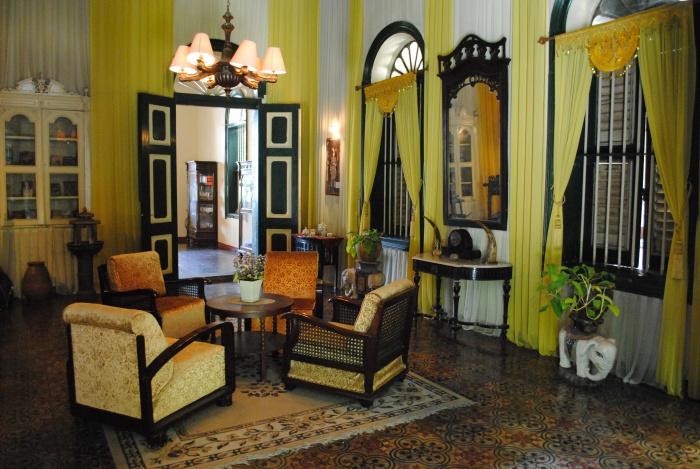 马来风格的偏厅用来招待当地贵宾。