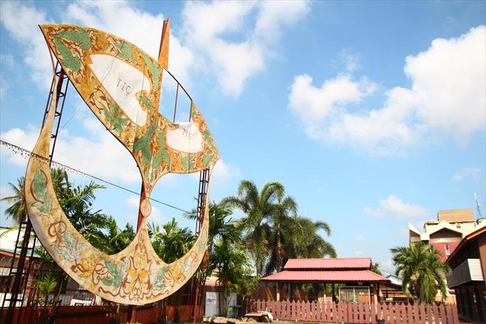 传统的大风筝是吉兰丹的文化代表物