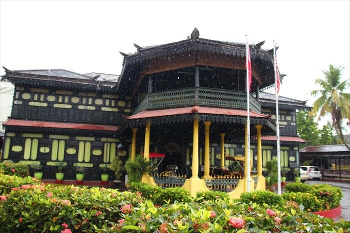 马来传统风格的Istana Jahar