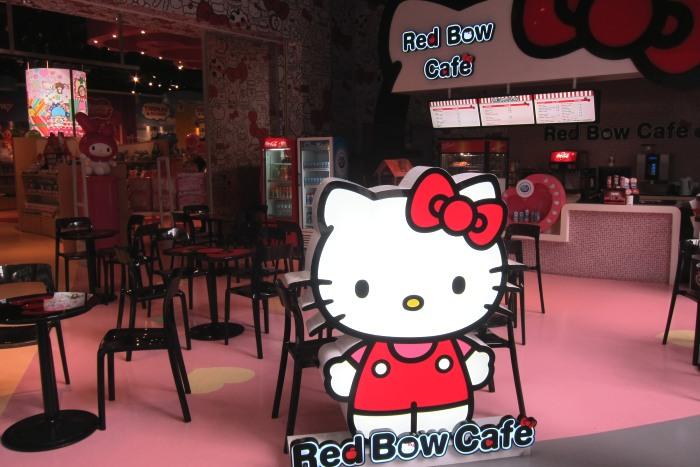 连歇息的咖啡厅都那么有爱!
