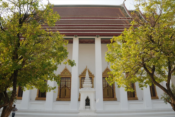 散发清丽气质的Wat Ratchanadda
